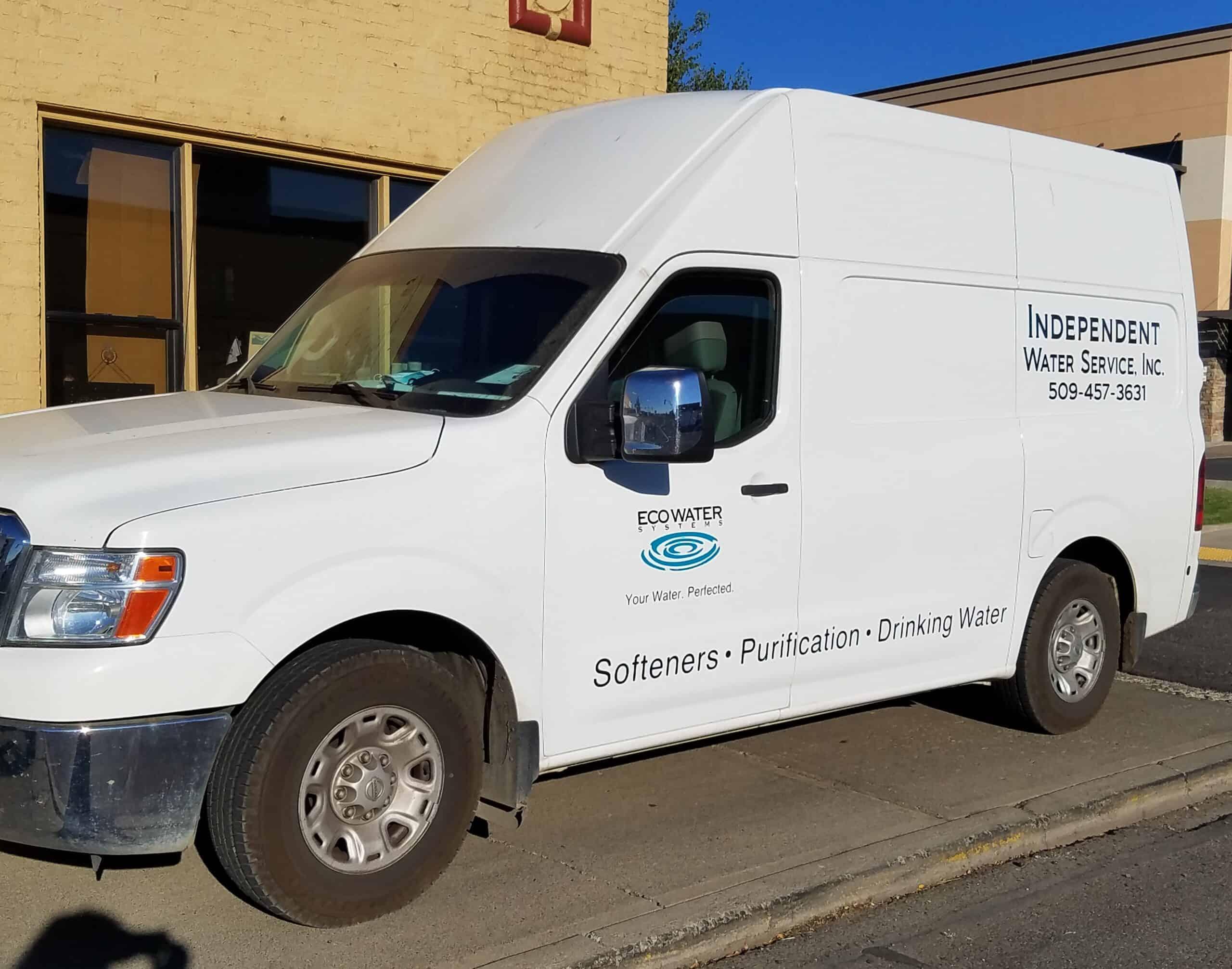 Independent Water Service, Inc. Van
